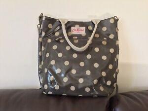 cath kidston Brown Spotty oilcloth bag