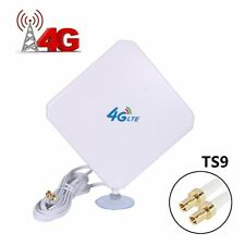 AMAKE 4G LTE Antenna TS9 Connector Dual Mimo Outdoor Signal Booster Amplifier