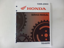 GENUINE HONDA SERVICE SHOP MANUAL TRX400FW 1995-2003