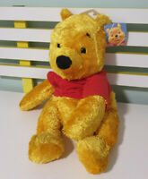 WINNIE THE POOH FISHER PRICE PLUSH CHARACTER TOY 50CM 2002 SHINY FUR!