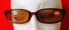 Brown Frame Reading Sunglasses 1.50