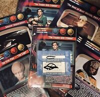 Newfield Publications Star Trek Universe Giant Cards Sealed Intro Pack Lot 1998