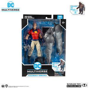 DC Multiverse Suicide Squad Peacemaker Unmasked BAF King Shark - McFarlane Toys
