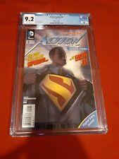 ACTION COMICS #9 DC New 52 CGC 9.2 1st Print First App Calvin Ellis Superman