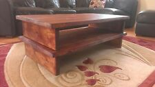 Pine More than 200cm Width Coffee Tables with Drawers