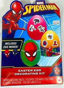 Spider-Man Easter Egg Decorating Kit NEW - Free Shipping