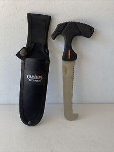 Camillus Titanium Fixed Blade 9 Inch Hand Saw With Sheath