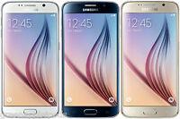 Samsung Galaxy S6 VI SM-G920A ATT Factory Unlocked 32/64GB White Black Gold