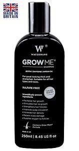 A Best Hair Growth Shampoo Sulfate Free, Caffeine, Biotin, Argan Oil,