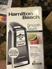 Hamilton Beach (76606ZA) Smooth Touch Electric Automatic Can Opener with Easy Pu