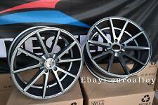 Neue 4x 20 zoll 5x120 Vossen VFS 1 style felgen BMW CONCAVE Wheels graphite grey