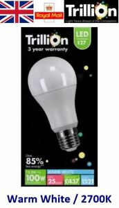 12.5w = 100w LED GLS Edison Screw E27 ES LED Light Bulb Lamp Warm White 100 Watt