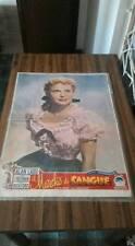 LOCANDINA IL MARCHIO DI SANGUE ALAN LADD FREEMAN CHARLES BICKFORD 1951