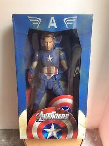 Rarissima action figure Captain America Avengers Marvel Neca scala 1/4 nuova