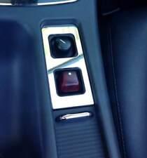 D mercedes slk r170 cromo diafragma para el interruptor espejo-capota-acero inoxidable
