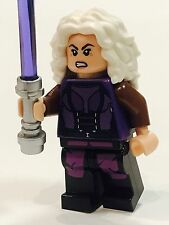 LEGO STAR WARS JEDI DARK WOMAN AN'YA KURO CUSTOM NEW LEGO AURRA SING S MASTER