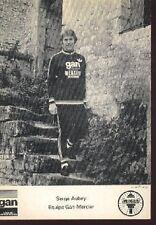 SERGE AUBEY Cyclisme Wielrennen Wielrenner Gan Mercier