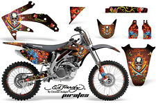 Honda CRF 450R Graphic Kit AMR Racing # Plates Decal Sticker Part 05-08 EHP
