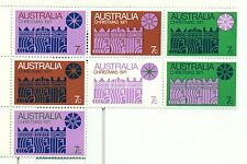 NATALE - CHRISTMAS AUSTRALIA 1971 strip