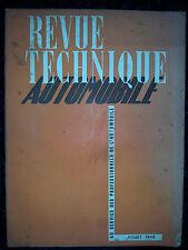 Revue Technique Automobile Juillet 1948 Ford V8 21 CV L'allumeur Ford piston BHB