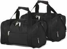 5 Cities 35x20x20 Ryanair Main Cabin Hand Luggage Holdall Flight Bags - 2 Pack
