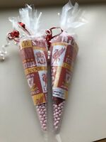 10 Liverpool LFC Sweet Filled Party Cones