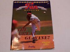 Atlanta Braves Fan Magazine Tom Glavine Juan Berenger 1991 Marvin Freeman MLB