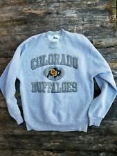 Vintage 90's COLORADO UNIVERSITY BUFFALOES men's large FLEECE LINED sweater