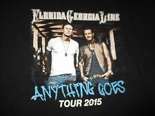 "2015 Florida Georgia Line ""Anything Goes"" Concert Tour (Xl) T-Shirt"