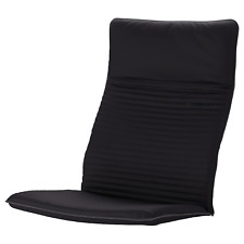 New Original IKEA Poang Cushion and Cover for Rocking or Arm Chair, Knisa Black