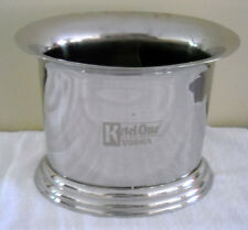 Ketel One Vodka Metal Bottle Chiller Ice Bucket Two Divided Sections