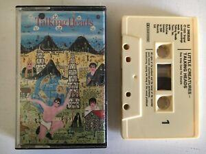 TALKING HEADS  little creatures - cassette tape album