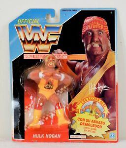 Hasbro WWF Hulk Hogan Sealed 1991 action figure