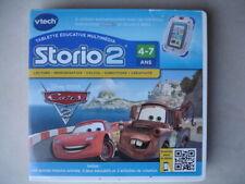Jeu pour console STORIO 1 ET STORIO 2 DE VTECH DISNEY PIXAR CARS 2 COMPLET