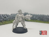 Storm Trooper Sergeant Rare 1996 Metal Imperial Guard Astra Militarum WH 40k GWS