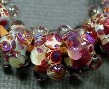 5FISH - BoRo GLaSS LAmPwoRK Borosilicate Spacers ~ Beach Bubbles