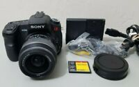 Sony Alpha A200 10 MP DSLR Camera with 18-55mm Lens *GOOD/TESTED* Free Ship!