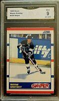 1990 Score Canadian #336 Wayne Gretzky GMA Mint 9