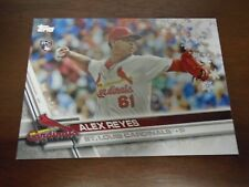 2017 Topps Holiday Alex Reyes #HWM16 ROOKIE CARD-Cardinals