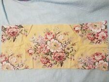 RALPH LAUREN pillow cases BROOKE king size Sophie VINTAGE yellow