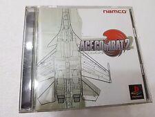 PSX SONY PLAYSTATION JAP NTSC ACE COMBAT 2 - NAMCO - NO SPINE