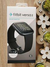 Fitbit Versa 2 SmartWatch Fitness Uhr - Schwarz - NEU - OVP - mit Alexa