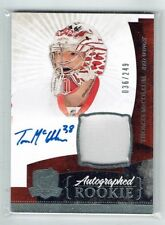 10-11 UD The Cup  Thomas McCollum  /249  Auto  Patch  Rookie