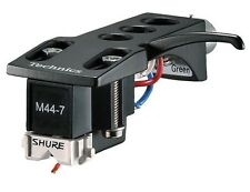 Shure M44-7-H Cartridge and Stylus on Technics Headshell