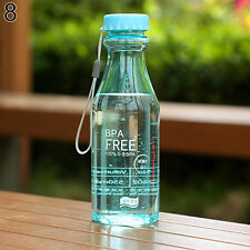 550ML BPA FREE CYCLING BICYCLE BIKE SPORTS UNBREAKABLE PC WATER BOTTLE SUPERIOR