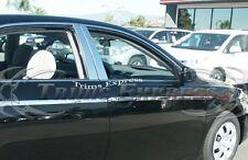 2007-2011 Toyota Camry 4Pc Chrome Pillar Post Trim Stainless Steel Door Trim