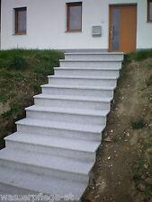 (16,72/m) Granit Stufenplatte Treppenstufen 119 x 32 x 3 cm Stufen Auftritt