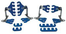 Moroso 72171 Small Block Chevy Spark Plug Wire Super Loom Kit - Blue/Chrome