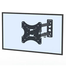 """26-55"""" Rotatable TV Stand Wall Mount Bracket with Sprit Bubble Load 30kg"""
