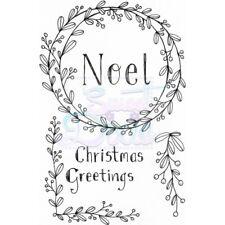 Conjunto de sello de Navidad Bayas claro:: las esquinas del marco de Navidad Noel sellos